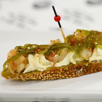 Tapas Pesto Serrano Tomate Cerise